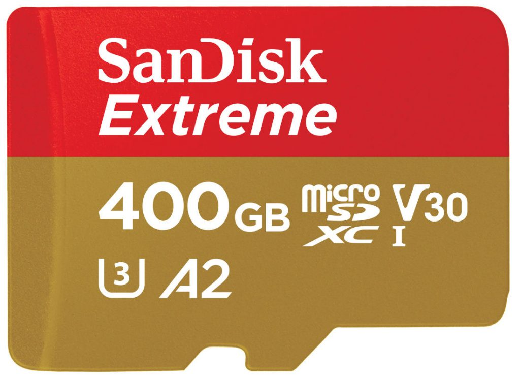 SanDisk World's Fastest MicroSD Card Of 400GB announced