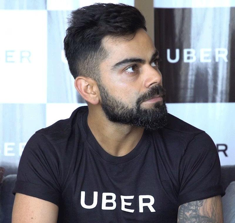 Uber India Ropes In Virat Kohli As Brand Ambassador The