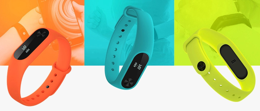 Xiaomi Mi Band Strap in Green and Orange colors now available in India