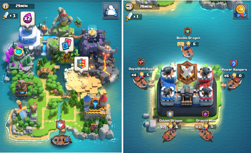 New Island Clash Of Clans