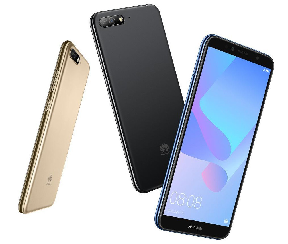 Huawei Y6 2018 With 5 7 Inch Fullview Display Android 8