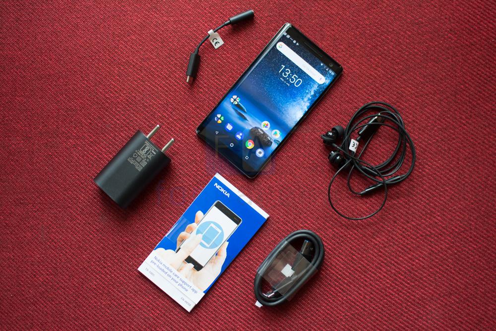 Nokia 8 Sirocco Unboxing