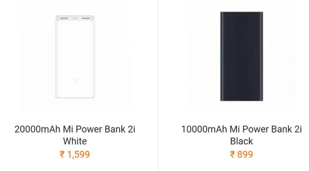 Xiaomi 10000mah And 20000mah Mi Power Bank 2i Get A Price Hike In India