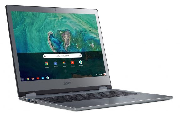 Google Chromebooks could get eSIM and Project Fi support soon