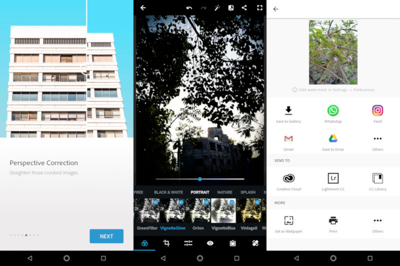 Adobe Photoshop Express for Android gets automatic ...