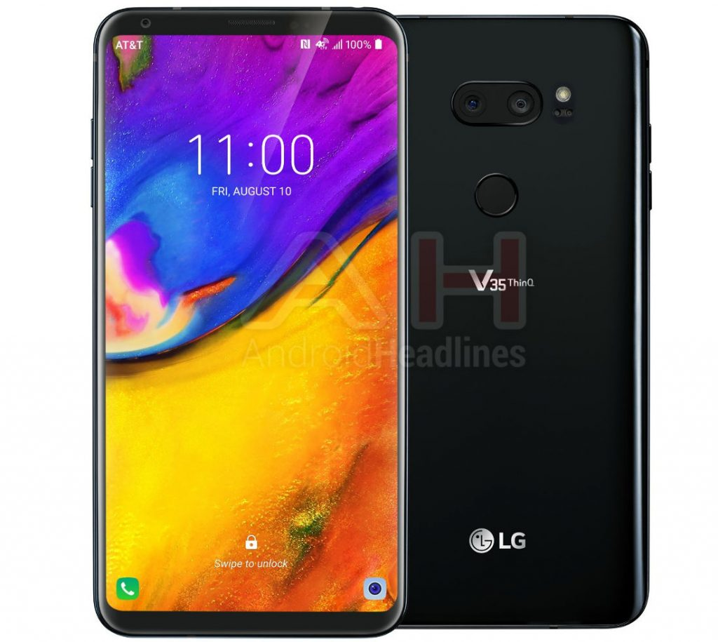 LG V35 ThinQ with 6-inch QHD+ OLED FullVision display, 16MP dual rear cameras surface