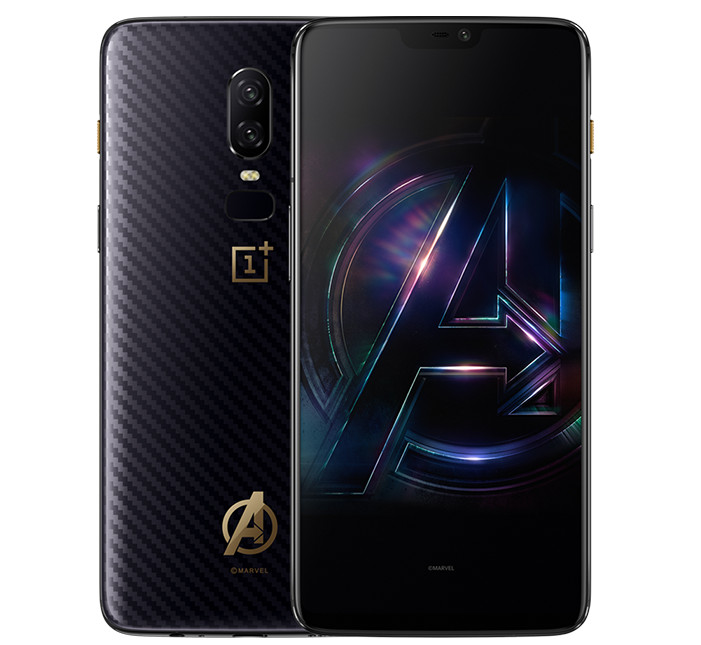 Image result for oneplus 6 avengers edition