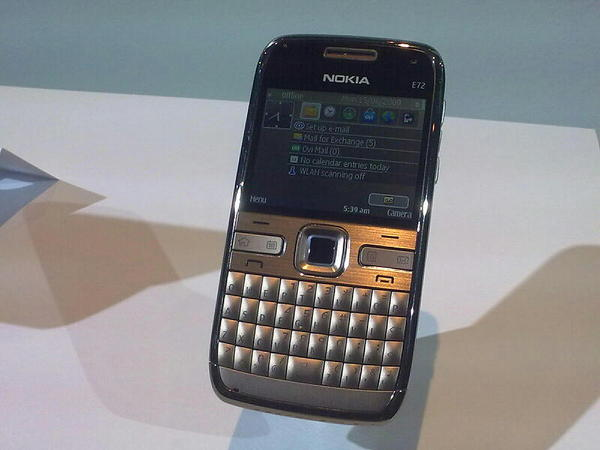 Nokia E72 gets the v31 023 firmware