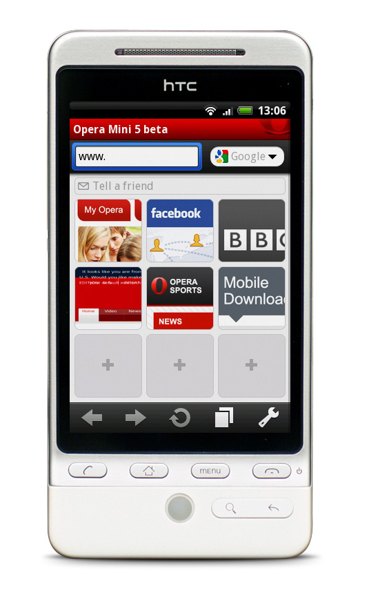 android to iphone app operamini5 android speeddial fone arena 13396