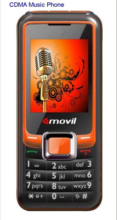 Movil introduces CDMA Music Phone.