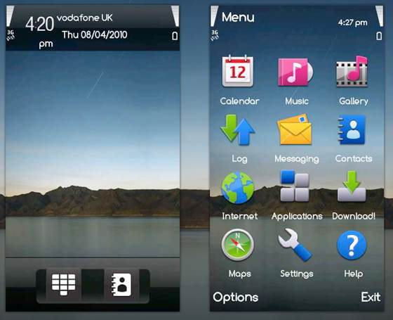 download free ipad theme for your symbian phone