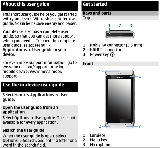 manual de nokia n8 product user guide instruction u2022 rh testdpc co Nokia 7 Nokia 7