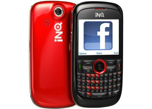 Is Facebook working on an Android phone with INQ?