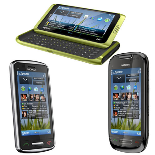 Nokia launches e7 c7 and c6 01 symbian smartphones at nokia world 2010 nokia reheart Images