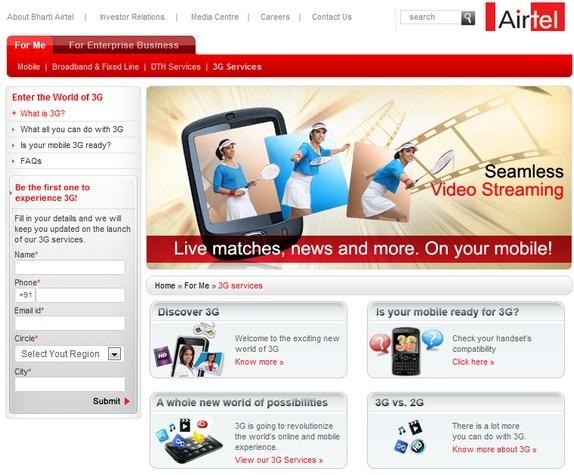 airtel-3g-services