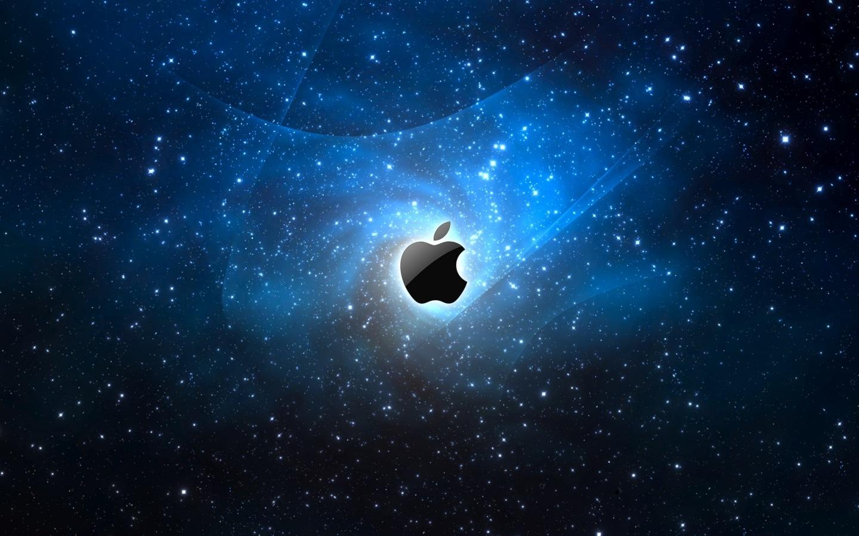 space-apple-logo