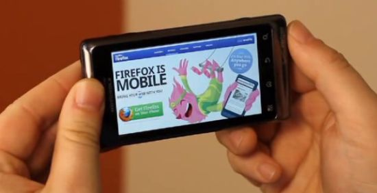 Download Mozilla Firefox 4 Release Candidate for Android and Maemo