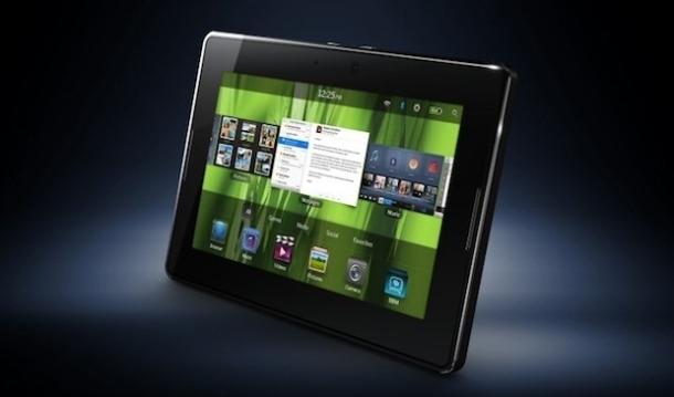 Apple iPad 2 vs BlackBerry Playbook specs comparison