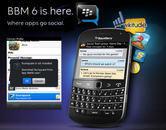 RIM launches BlackBerry Messen...