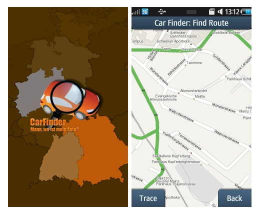 Car Finder And Wipolo Travel Apps For Bada And Android Phones