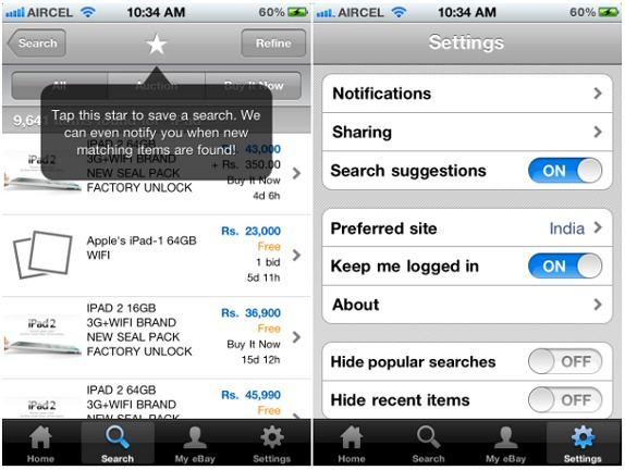 Shop Search And Compare Prices With Ebay Iphone App For India