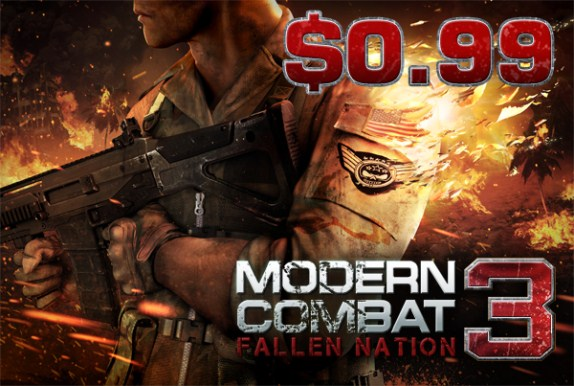 Modern Combat 3 More features details: