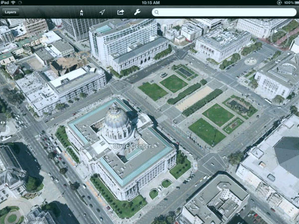 Google Earth Maps To Get The 3d Treatment