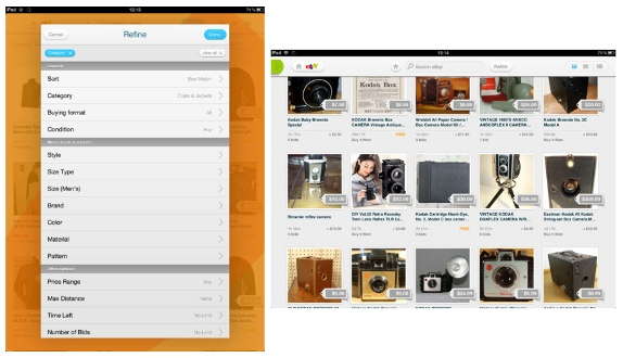 Now Shop And Search With Ebay Ipad App For India