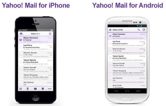 android yahoo mail app