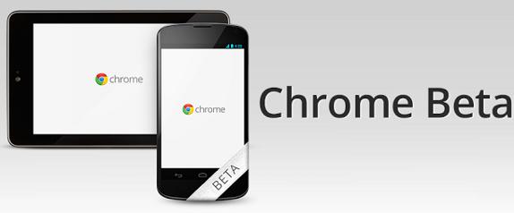 Google Chrome Beta Channel for Andorid