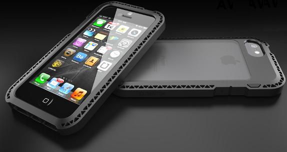 The Lunatik Seismik Suspension Frame For Iphone 5 Also Has Similar Patent Pending Impact Truss System Of Taktik Series