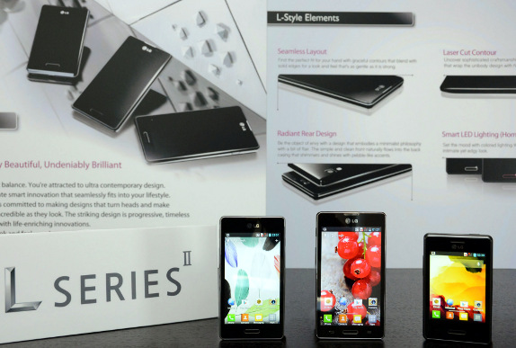 A First Contact with The LG Optimus II, II and II L7 L5 L3