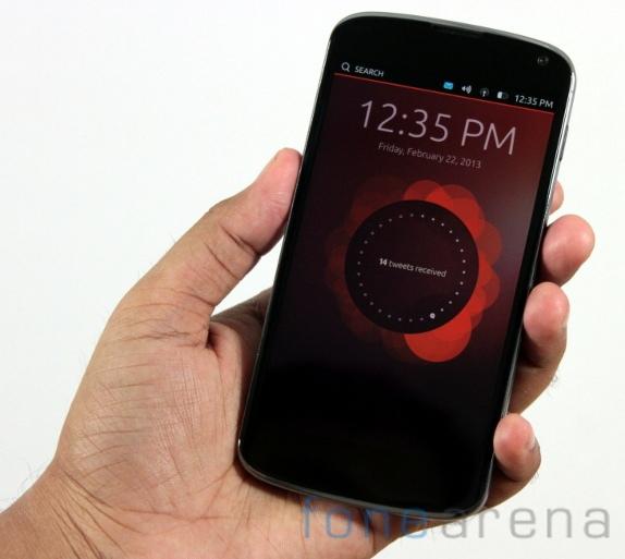 Ubuntu for Phones on Nexus 4