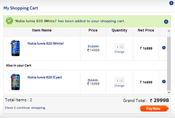 Nokia Lumia 620 goes on sale in India at a price of Rs  14,999/-