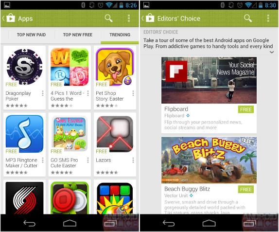 Google Play 4.0 leak