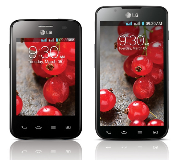 LG Optimus L3 II Dual and Optimus L7 II Dual