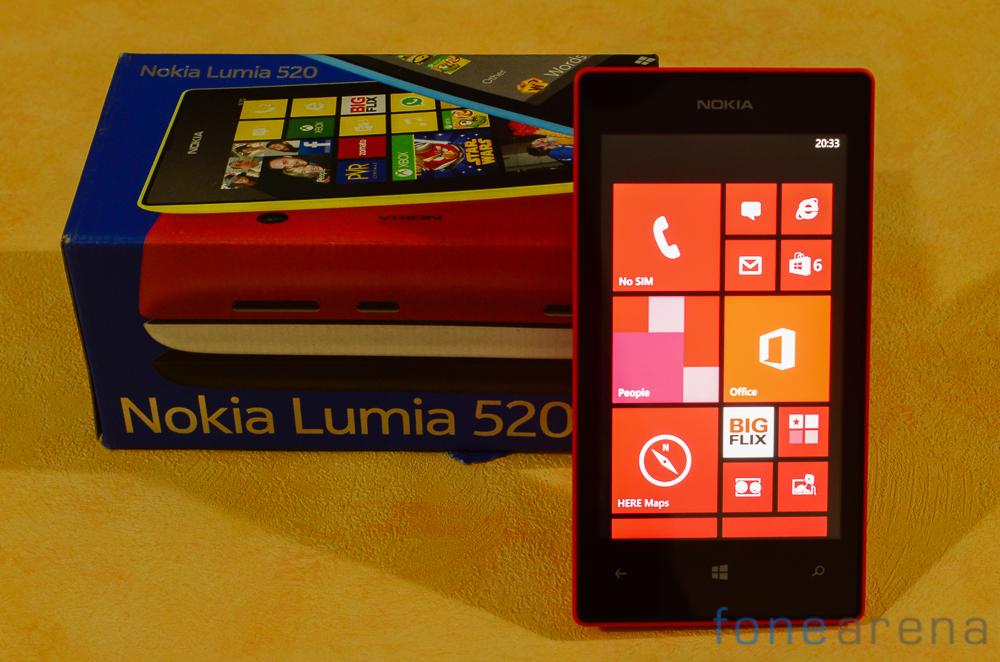 Game Mobile Nokia Lumia 520