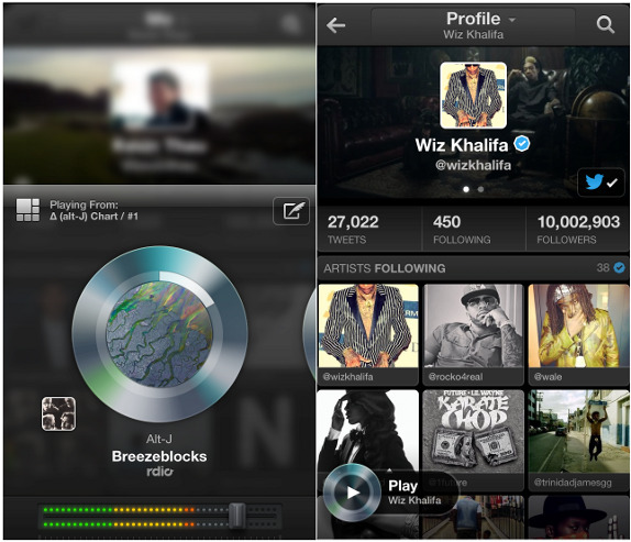 Twitter Launches Music Application for Mobile