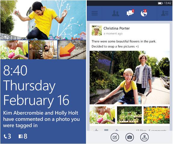 Facebook for Windows Phone Beta 5.0