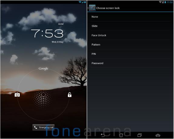 Fonepad Lockscreen