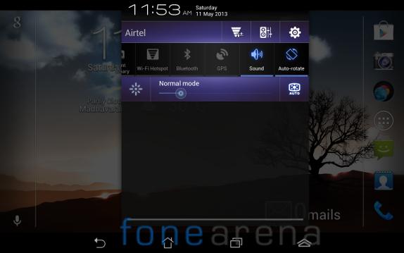 Fonepad Notifications