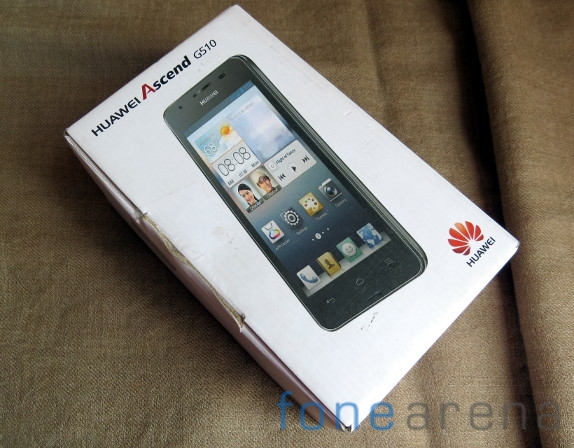 Huawei Ascend G510 Unboxing