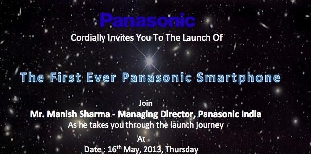 Panasonic-India-Smartphone-Launch-Invite