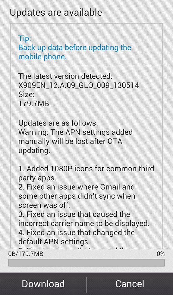 Oppo Find 5 gets a firmware update with a lot of bug fixes