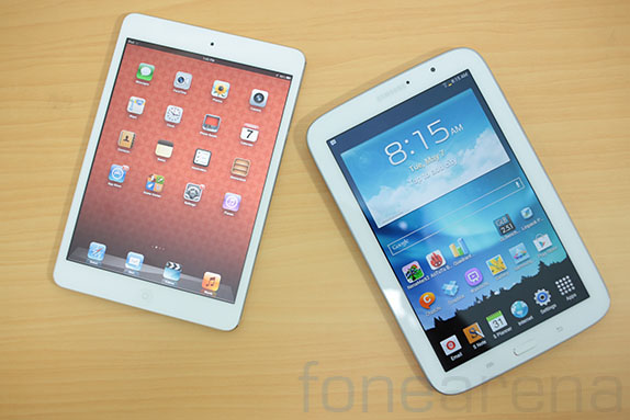 iPad Mini vs Galaxy Tab 3