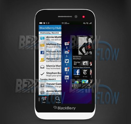 BlackBerry Z5, A10