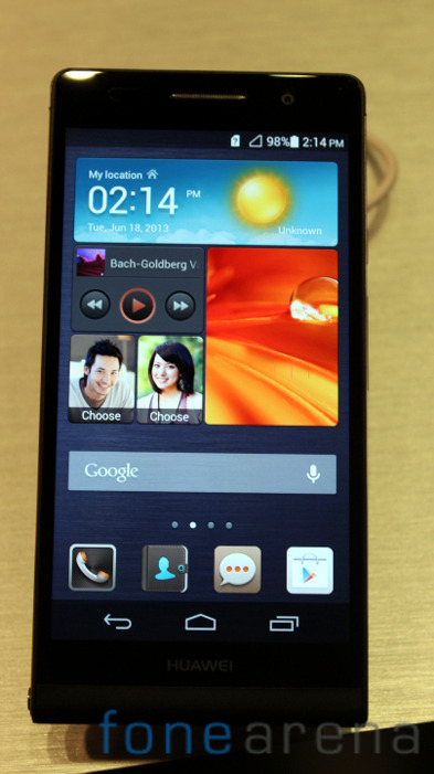 Huawei-Ascend-P6-Black-Front