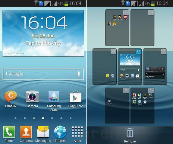 Samsung Galaxy Grand Quattro Home