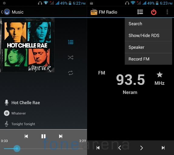 Xolo Q700 Music Player and FM