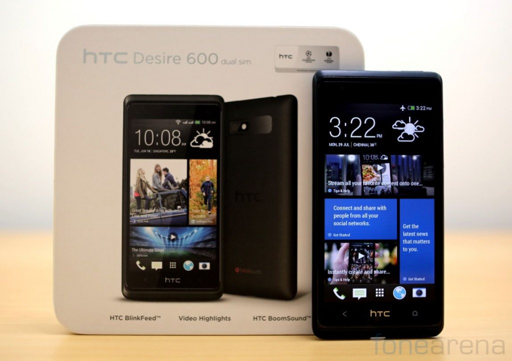 newest collection 76b7b cf5a9 HTC Desire 600 Dual SIM Unboxing